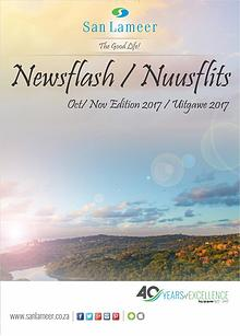 San Lameer Newsflash/Nuusflits October 2016