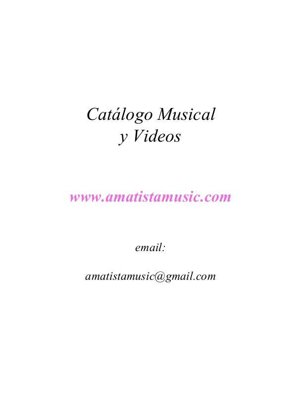 Amatistamusic Relax Catalogo 2017 Amatistamusic 2017 Catalogue