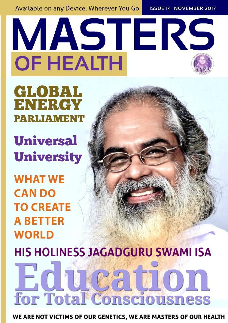 Masters of Health November 2017