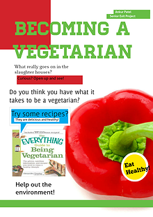 Becoming A Vegetarian