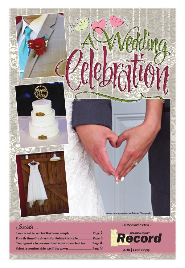 2018 Wedding Celebration