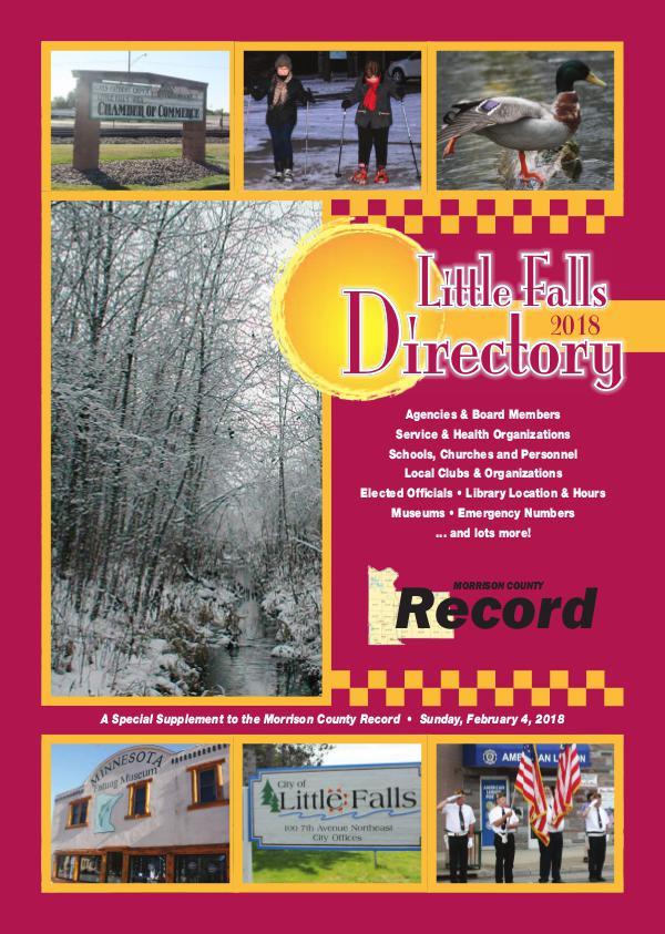 2018 Little Falls Directory