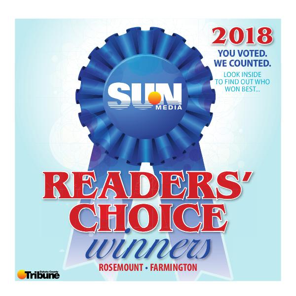 Farmington Rosemount Readers Choice Awards
