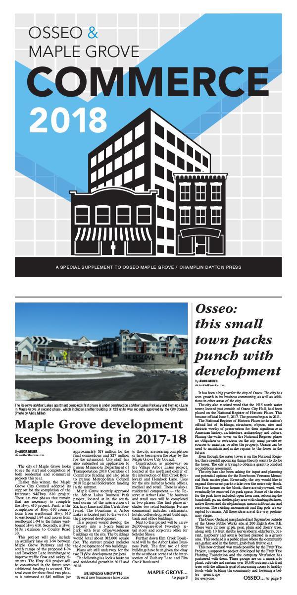 Osseo-Maple Grove Commerce