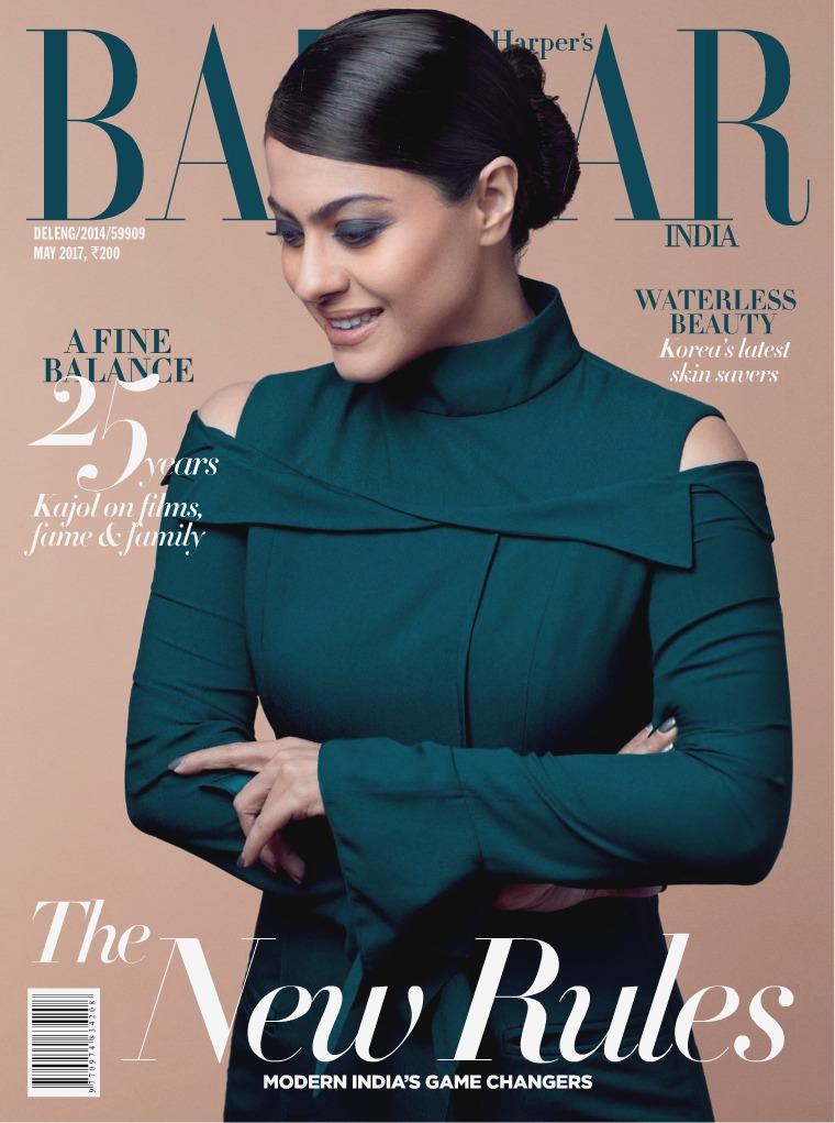 Harper's Bazaar May 2017
