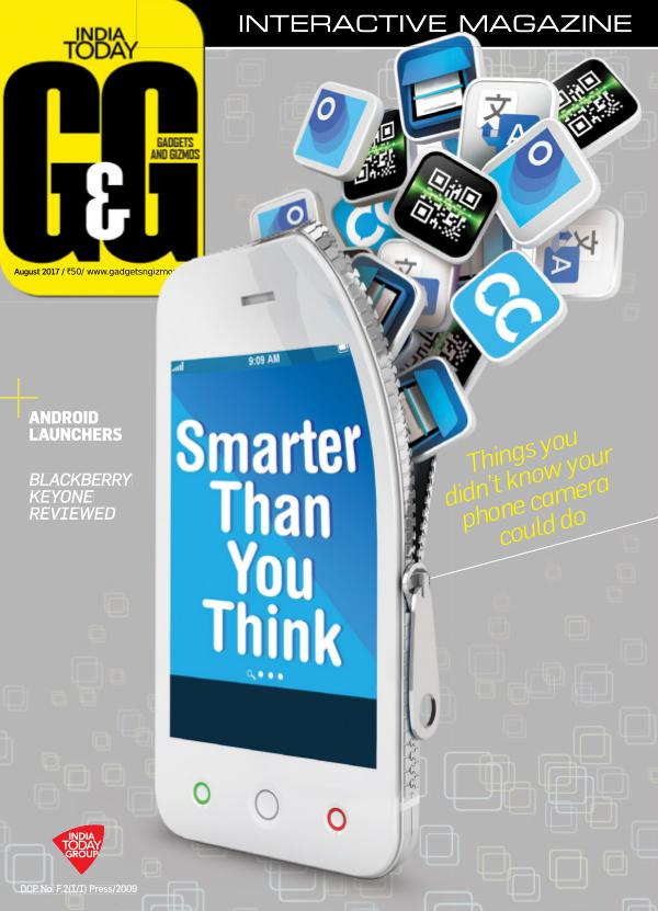 Gadgets and Gizmos August 2017