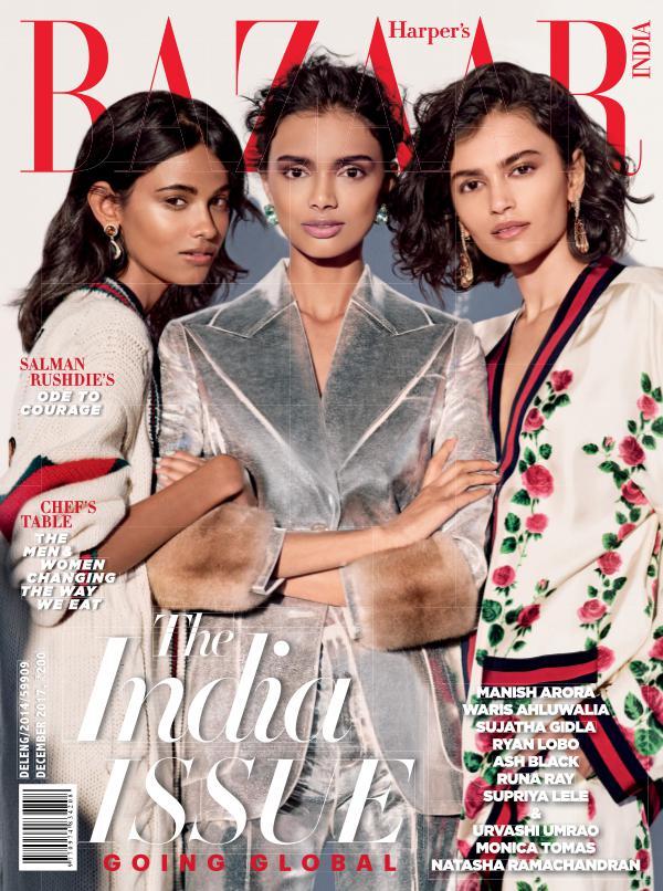 Harper's Bazaar December 2017