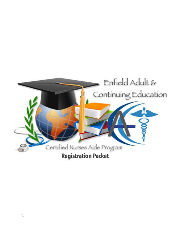CNA Registration Packet 2018