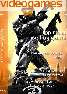 videogame magazine