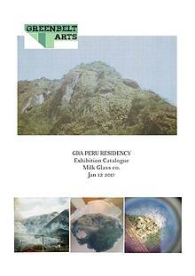 GBA Peru Exhibition Catalogue