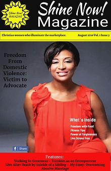 Shine Now! Magazine August - Freedom