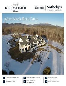 Adirondack Real Estate Market Report   Spring 2016