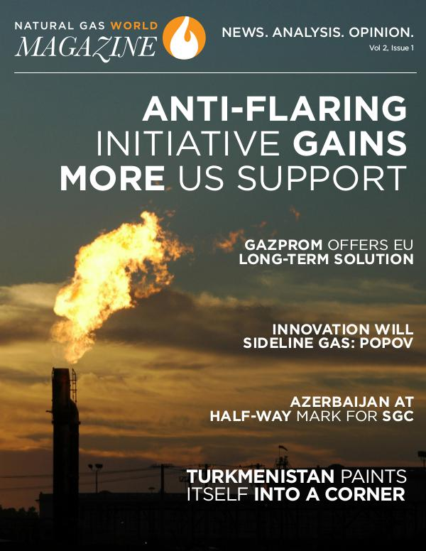 Natural Gas World Magazine Vol 2, Issue 1