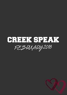 Creek Speak
