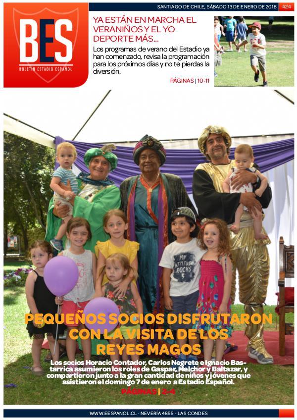 Boletín Informativo Estadio Español N° 424