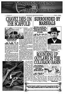 Wagons West Chronicles October Issue 2016