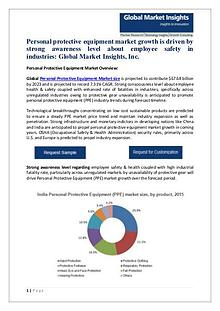 Personal Protective Equipment Market analysis PDF
