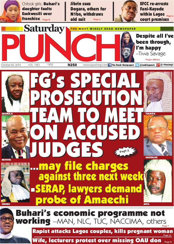 The most widely read newspaper in Nigeria
