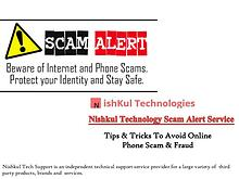 Tips & Tricks To Avoid Online Phone Scam & Fraud