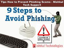 Tips How to Prevent Phishing Scams