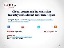 Global Automatic Transmission Industry Production and Market Share