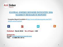Global Smoke sensor Market 2016-2020 Report