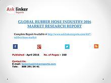 Global Rubber Hose Market 2016-2020 Report