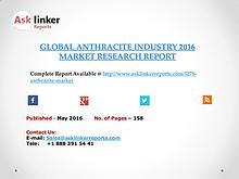 Global Anthracite Market Analysis and Forecasts Report 2016