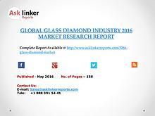 Glass Diamond Industry Key Companies Market Share in 2011–2016 Report