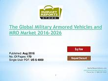 Military Armored Vehicles and MRO Market - 3.71% CAGR Forecast to2026