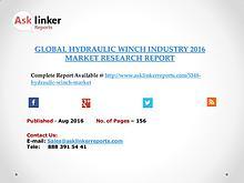 Hydraulic winch Industry Key Companies Market Share in 2016 Report