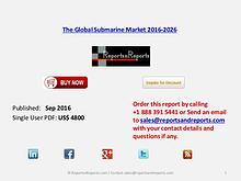 Submarine Market - 4.74% CAGR Forecast to 2026