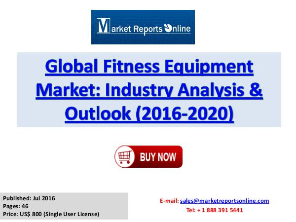 global fitness equipment market A comprehensive study of global fitness industry behavior by ace, ihrsa and clubintel  resistance equipment has driven overall market adoption downward.