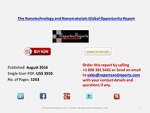 Nanotechnology and Nanomaterials Market Product Developer Profiles