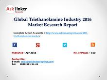 Global Triethanolamine Market Analysis of Key Manufacturers