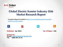 Electric Scooter Industry Chain Overview with Global Market Policy