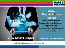 Thymolphthalein Market Revenue and Value Chain 2016-2026
