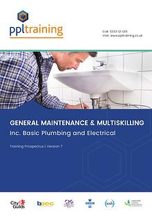 Multi-skilling and Water Maintenance Training Prospectus