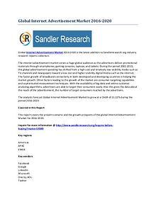 Internet Advertisement Market 2016-2020 Global Research Report