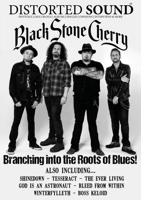 36 - Black Stone Cherry Cover