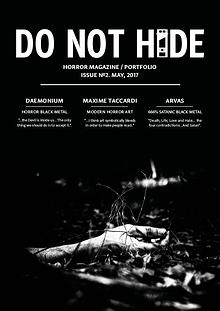 DO NOT HIDE #1 (November, 2016)
