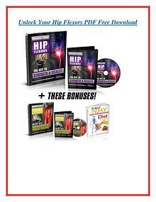 Unlock Your Hip Flexors PDF /eBook