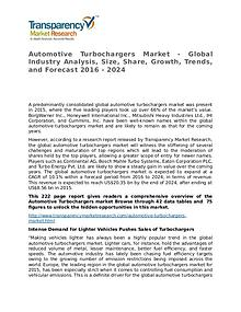 Automotive Turbochargers Market Research Report and Forecasts 2014