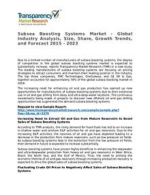 Subsea Boosting Systems Market - Global Industry Analysis by 2023