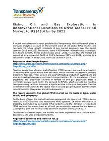 FPSO Market - Positive Long-Term Growth Outlook 2021