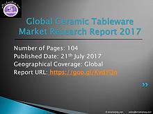 Global Ceramic Tableware Market Research Report 2017