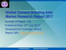 Global Cement Grinding Aids Market Research Report 2017-2022