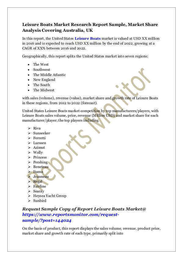 marketing research report sample