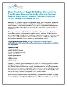 Plug In Power Supply  Market  Analysis - Growth, Industry 2017