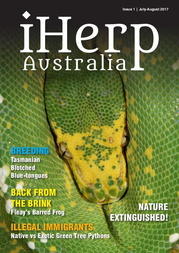 iHerp Australia Issue 1